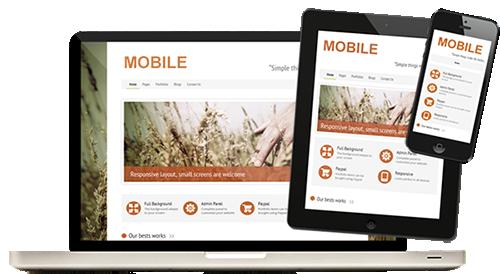 Дизайн сайта для мобильных устройств