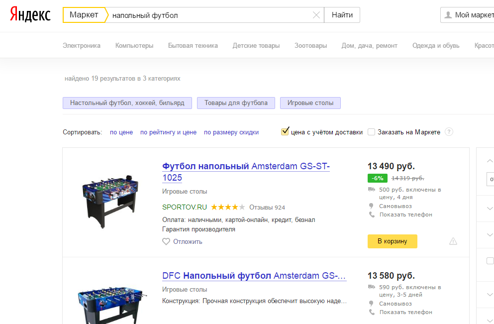 Лучшее название для товара в Яндекс Маркете