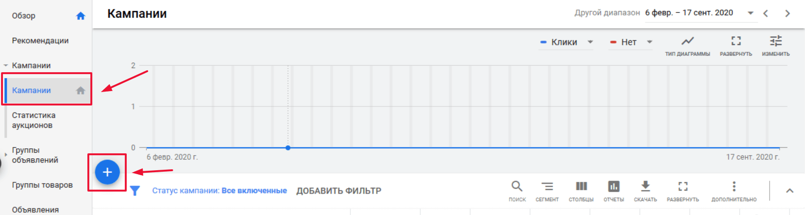размещение магазина в Google Покупка