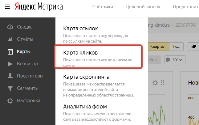 Поведение пользователей на сайте